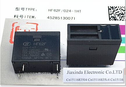 HOT NEW JQX-62F-024-1HT JQX-62F 024-1HT 24VDC DC24V 24V 20A DIP4 #Affiliate