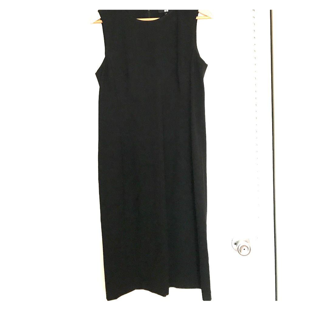 Uniqlo black ponte dress uniqlo and products