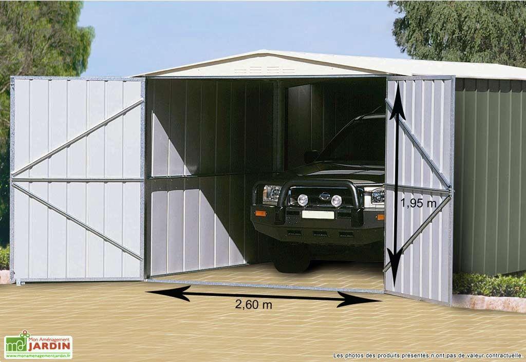 Garage Metal Treco Colorbond 3 07x5 88x2 25 Garage Bois Garage Garage Metal