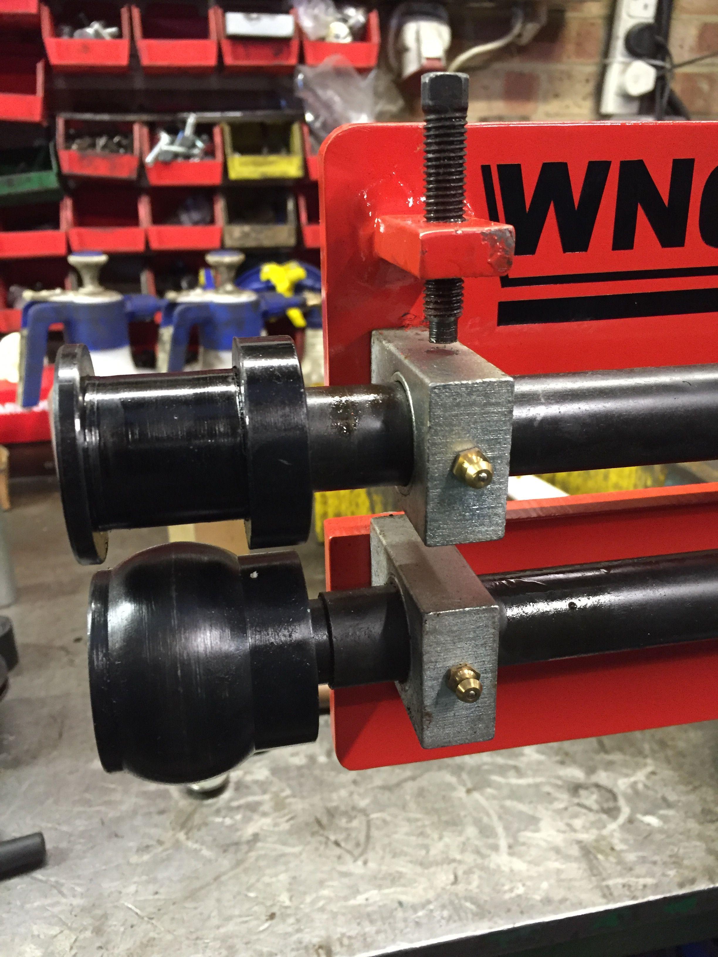 Wns Bead Roller Rolls Swage Roll Set Szerszamok