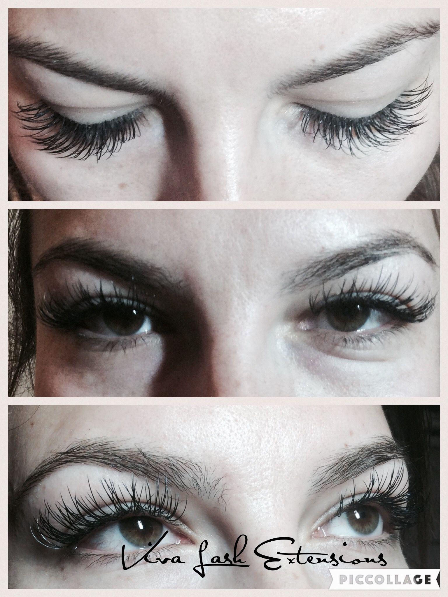 ed886391730 14 mm C curl ellipse classic lash | Viva Lash Extensions | Lash ...