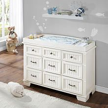 Bertini Saybrook Double Dresser Topper White Not Now