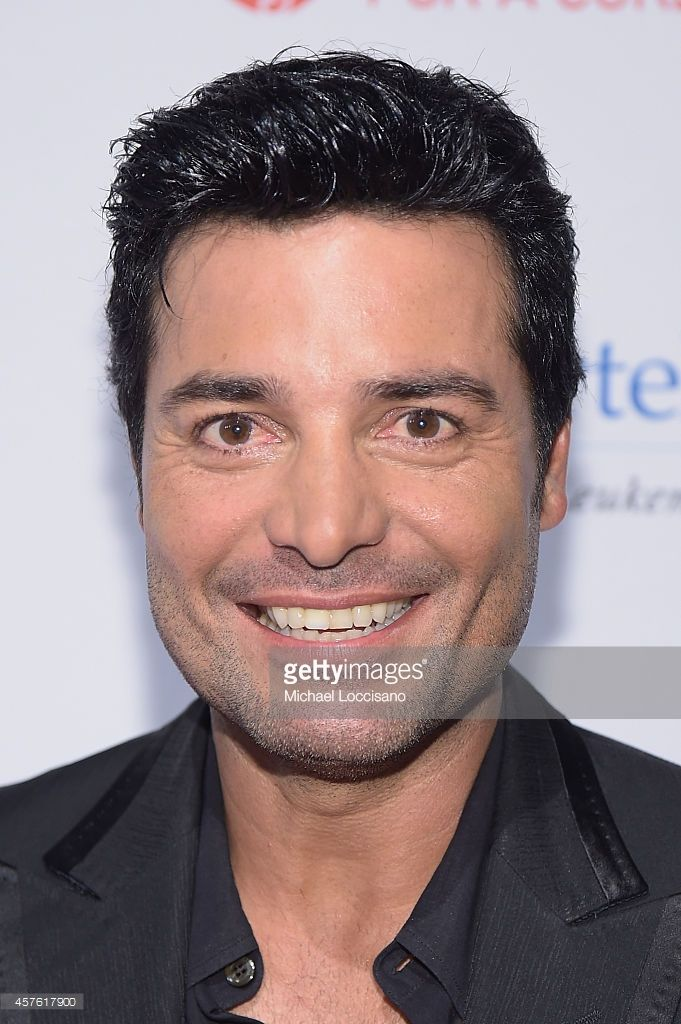 Singer Chayanne attends the T.J. Martell Foundation's 39th Annual New York Honors Gala at Cipriani 42nd Street on October 21, 2014 in New York City.