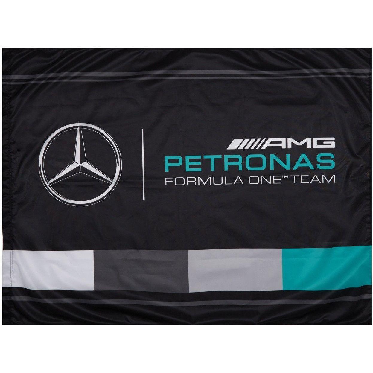 Mercedes Benz Petronas Formula 1 AMG Fan Flag