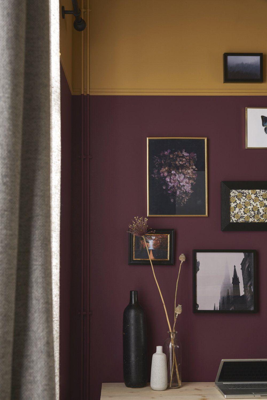 Camaïeu de couleurs sur les murs