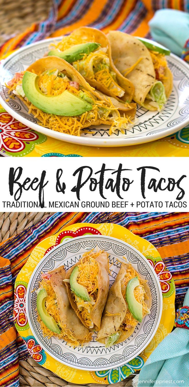 Ground Beef Potato Tacos Recipe Smart Fun Diy Recipe Potato Tacos Recipes Affordable Food