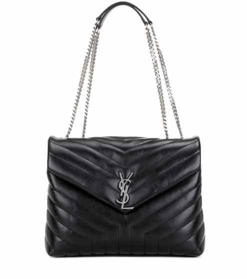 Loulou Medium Quilted Leather Shoulder Bag Saint Laurent