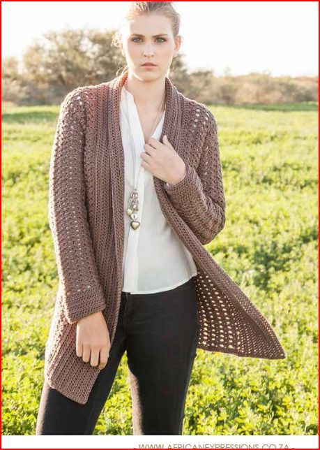 886edbc21 Harmony cardigan - free pattern by African Expressions