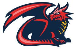 Welsh Red Dragon Stock Photos Images Pictures 226 Images Page 2 Logo Dragon Mascot Sports Logo Design