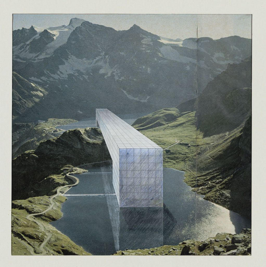 Superstudio The Continuous Monument Alpine Lakes Project