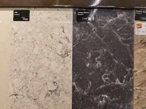 Aria and Ocean Storm- Silestone- Homedepot | kitchen