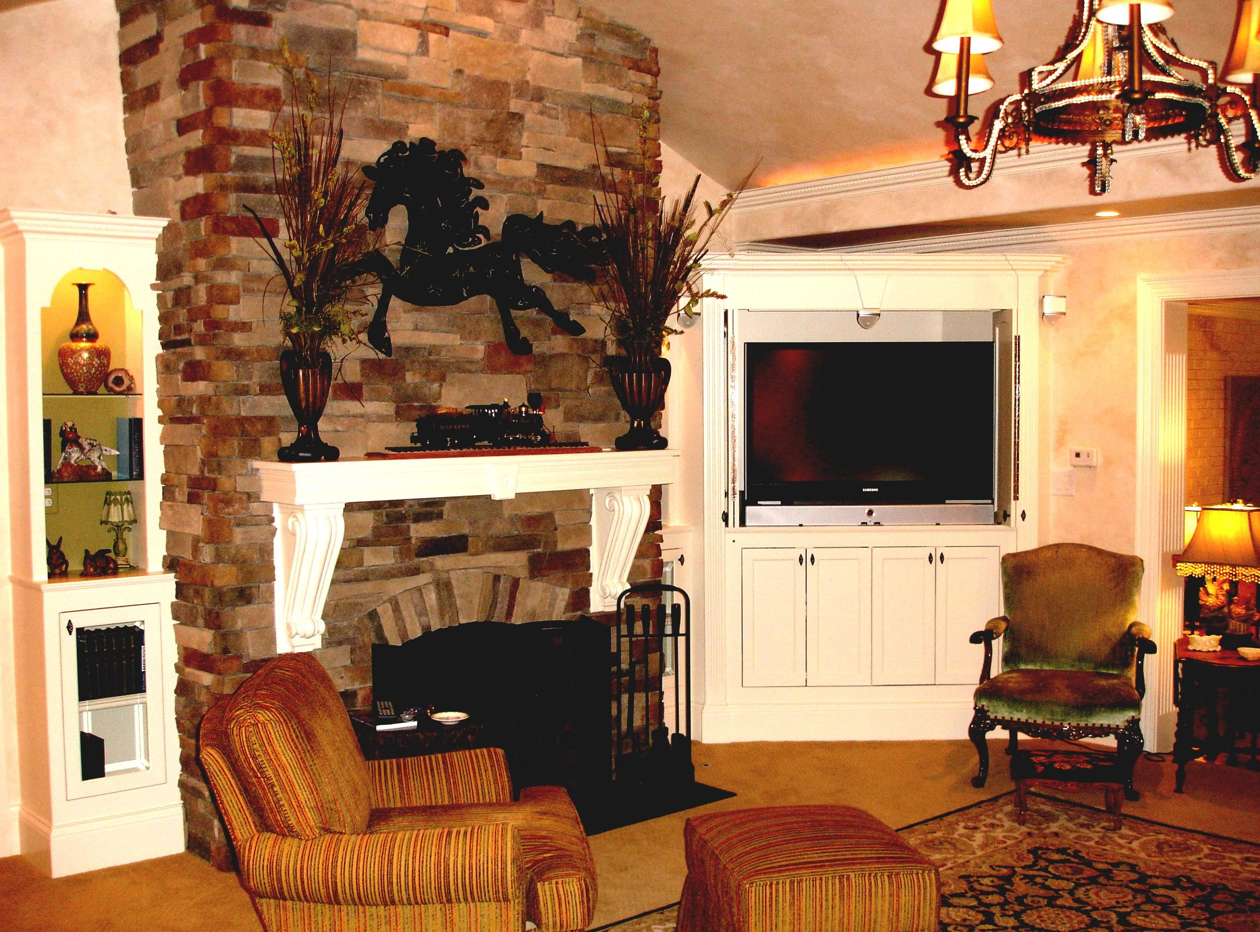 living remarkable and decor tv ideas with photo as astonishing room fireplace small