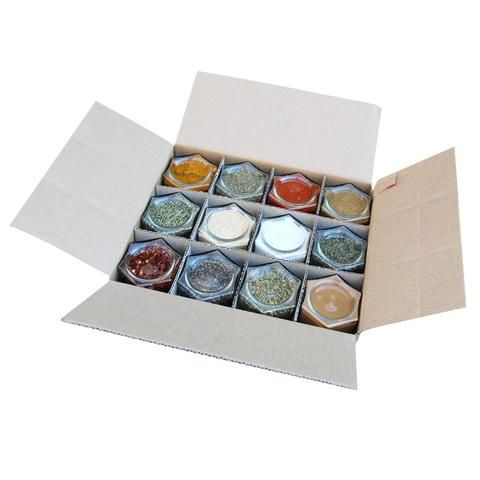 Organic Spice Rack Gneiss Spice Magnetic Spice Rack  Your Choice Of Organic Spices