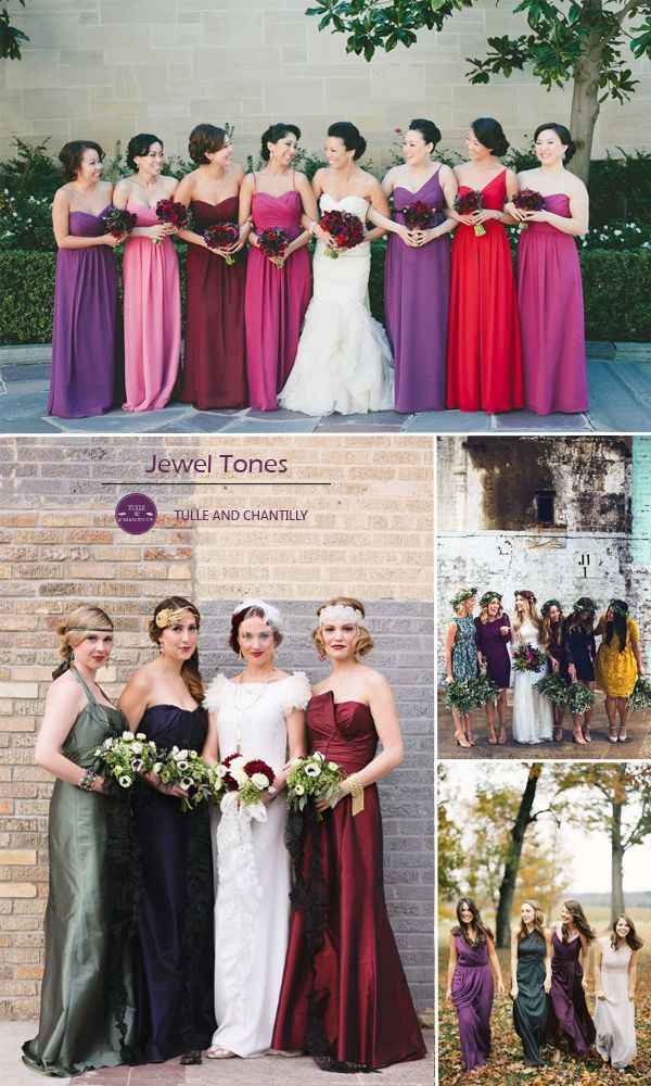 Top 10 Colors for Fall Bridesmaid Dresses 2015 http