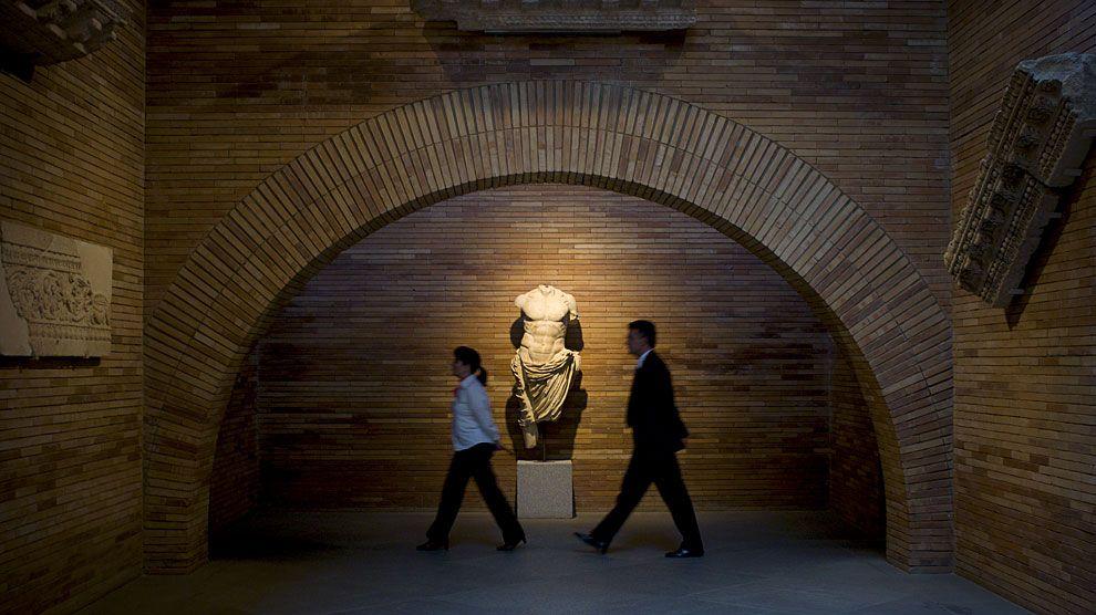 Museo Nacional de Arte Romano, obra de Rafael Moneo (Mérida)