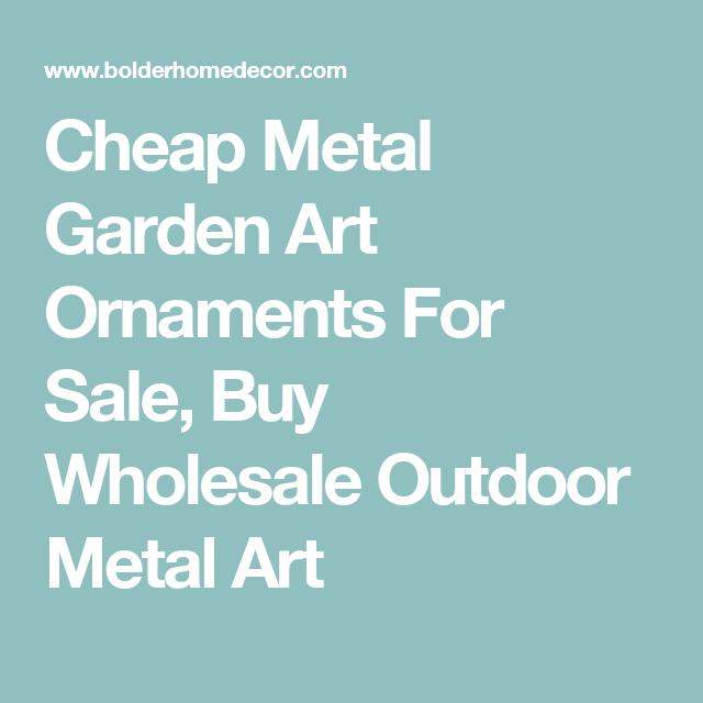 Cheap Metal Garden Art Ornaments For Sale, Buy Wholesale Outdoor ...