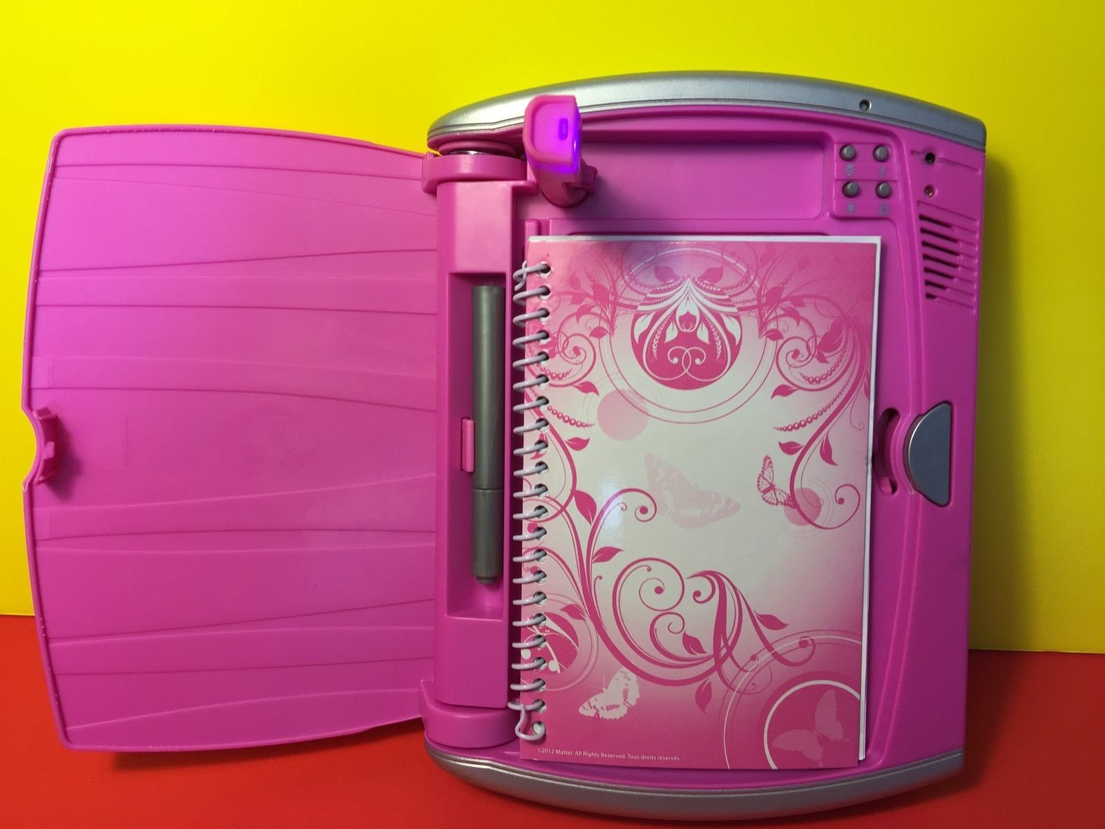 8335141a1f4 Mattel My Password Journal Tech Electronic Diary Voice Activated Lock Pink