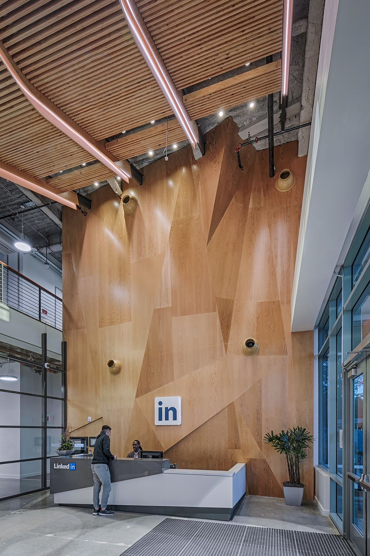 A Tour Of Linkedins Sunnyvale Office  Buildings 950 And