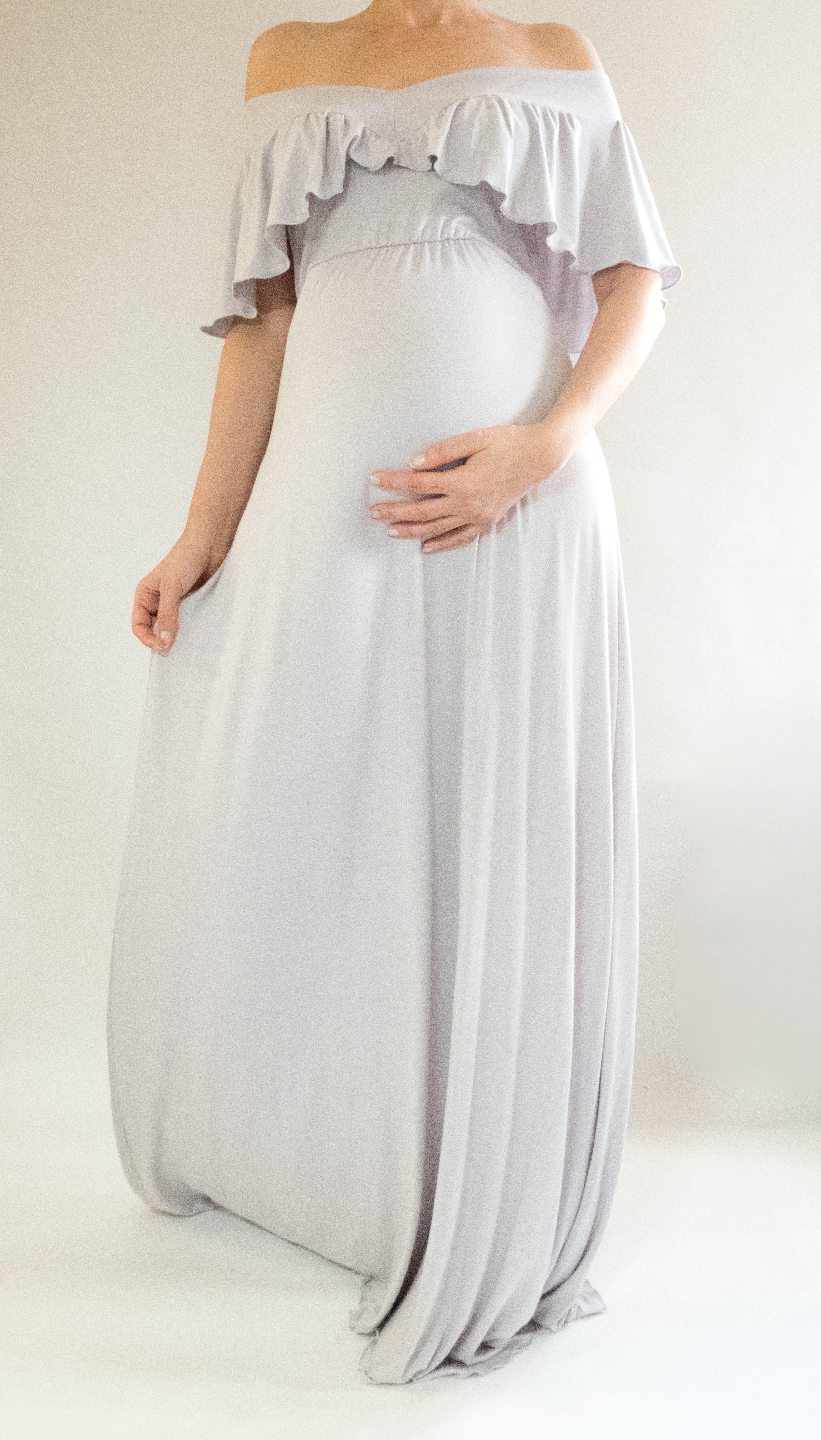Stylish Baby Shower Dresses : stylish, shower, dresses, Stylish, Maternity, Outfits