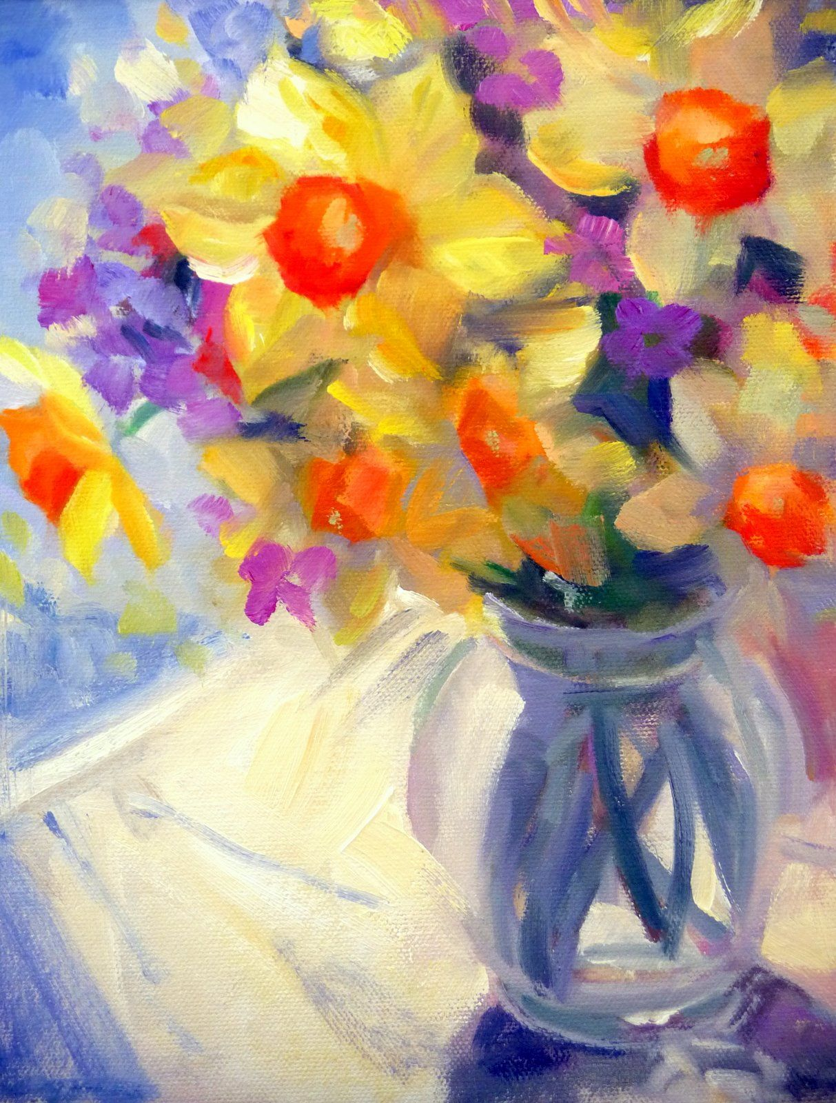 Pin by mary alig on Flowers in Art! | Pinterest | Nice, Modern art ...