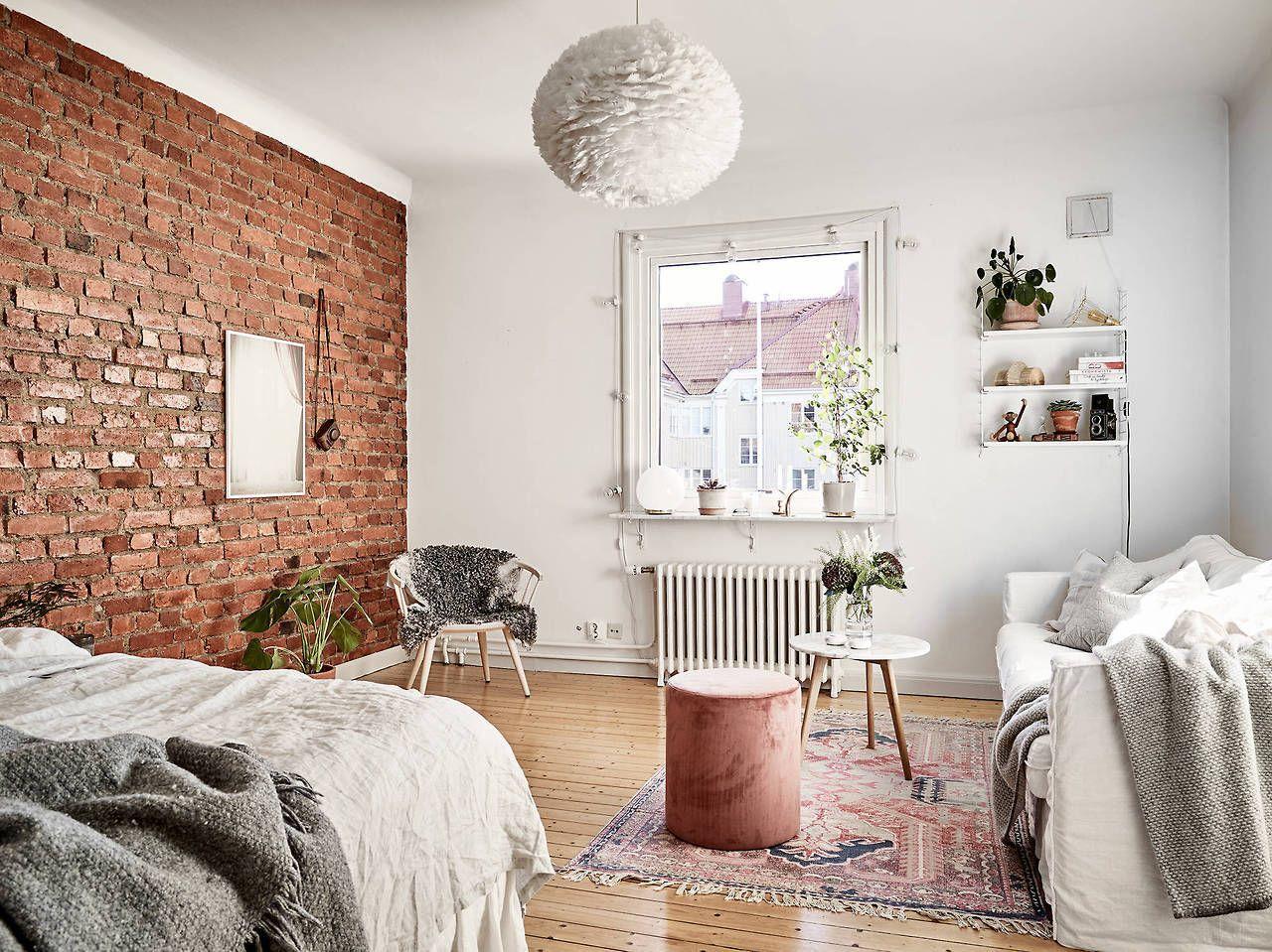 Studio Apartment With Exposed Brick Wall I Love Studios