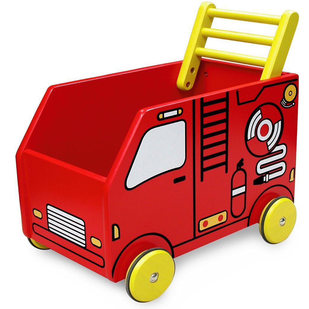 Toys toy boxes and fire trucks on pinterest - I M Toy Walker Fire Engine