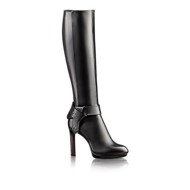 Bota de Cano Alto Belted - - Sapatos | LOUIS VUITTON