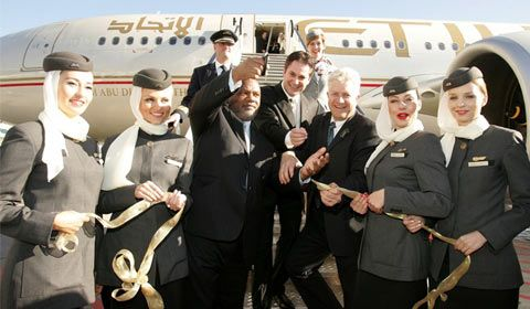 Etihad Airway Staff Cabin Crew Airline Cabin Crew Flight Attendant