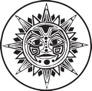 mexican sun drawing bing images design suns and moons rh pinterest com Mexican Logo Mexican Logo