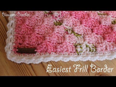 YouTube | Crochet | Pinterest | Volante de ganchillo, Gorros de ...