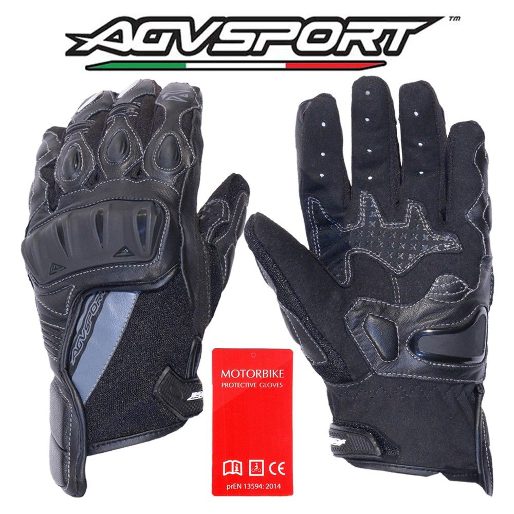 Motorcycle gloves palm protection - Voler Glove Short Summer Gloves Leather For More Protection Amara At