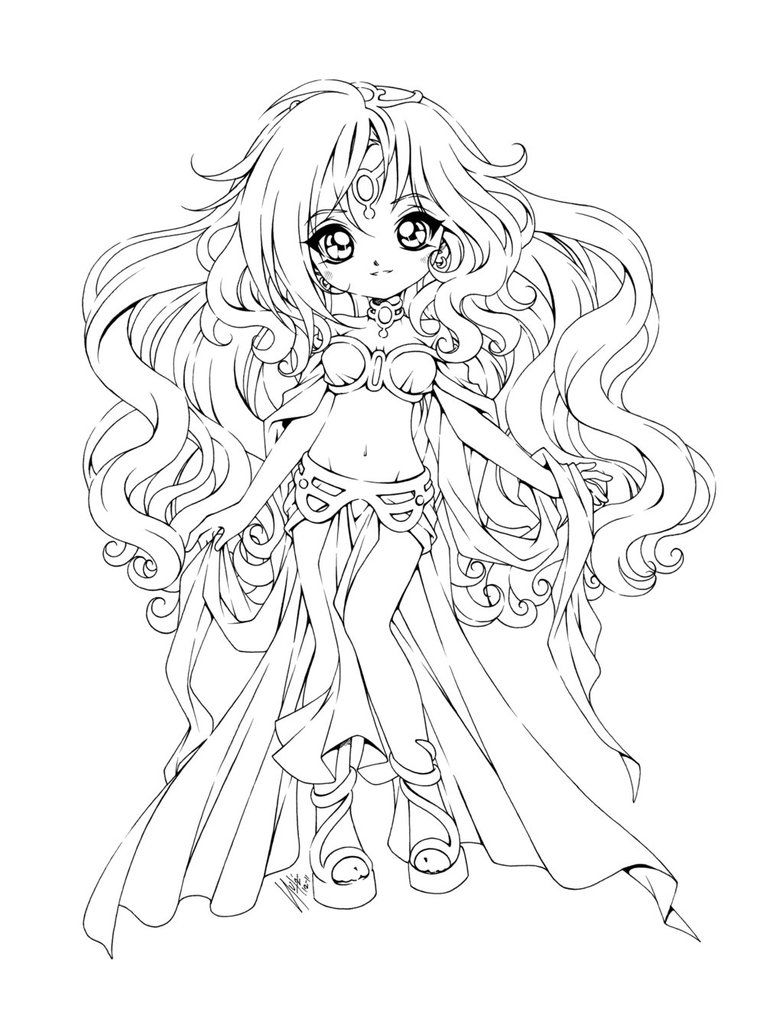 anime coloring pages deviantart outgoing - photo#8