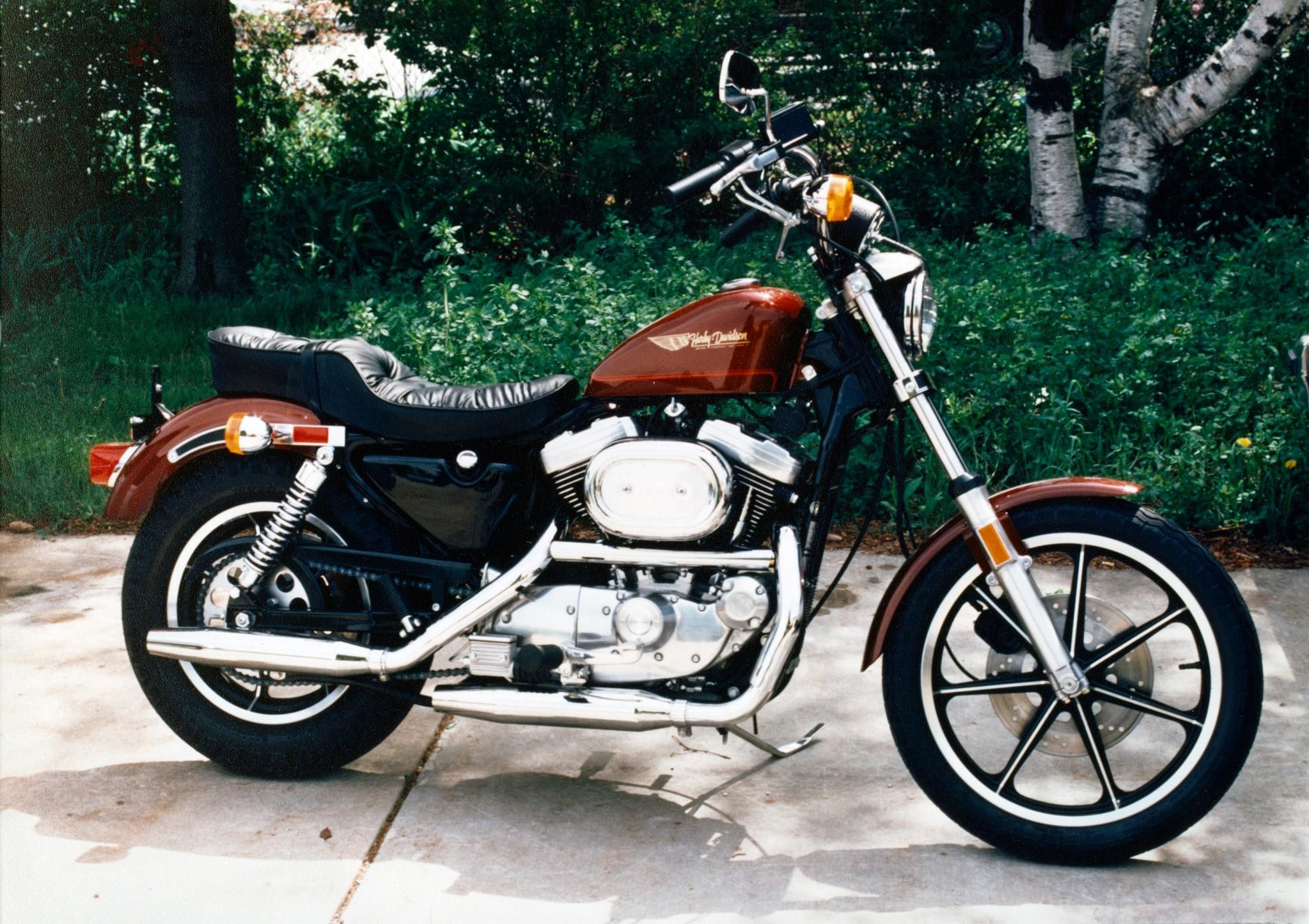 From The Archives A 1987 Sportster 1100 The Second Model Year Of The Evo Sportster Hd Sportster Sportster Harley Davidson