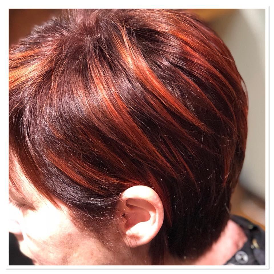 Cheveux rouges, Cheveux roux, Cheveux bruns, Cheveux