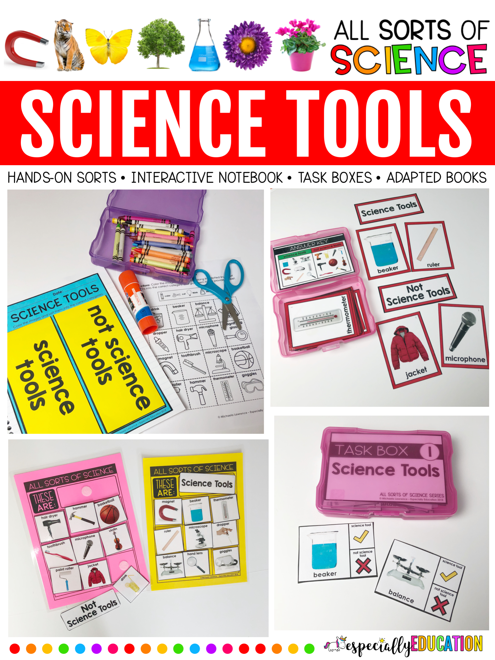Science Tools All Sorts Of Science Series Science Tools Special Education Classroom Special Education Science [ 2249 x 1687 Pixel ]