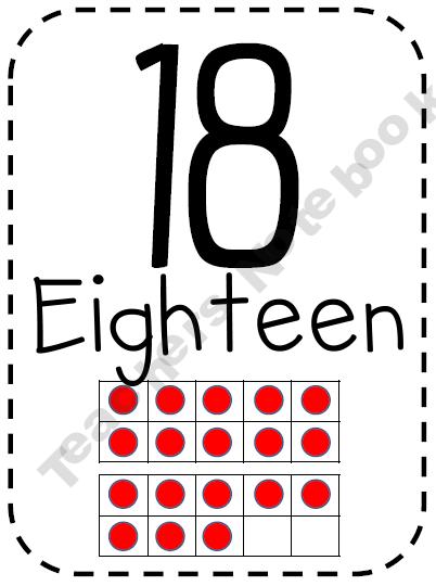 math numbers - ten frames