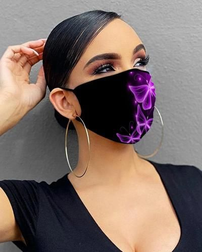 Photo of 28 STYLES BUTTERFLY PRINT BREATHABLE MASK