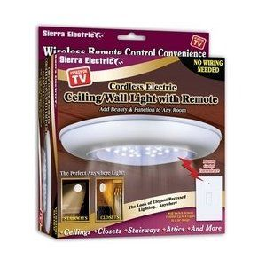 sierra tools jb5571 battery-operated ceiling/wall light with