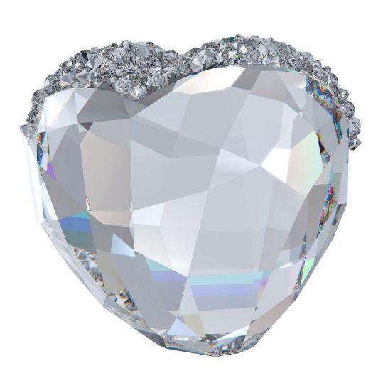 Love Heart Crystal, Medium - Swarovski Team - Swarovski - RoyalDesign.dk