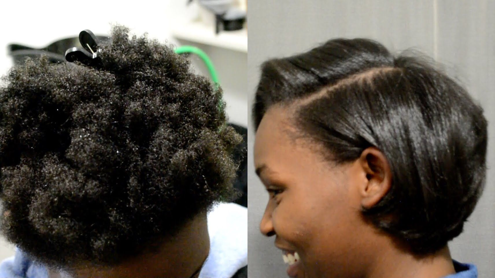 SILK BLOWOUT ON 4C NATURAL HAIR + DETAILED STEPS +