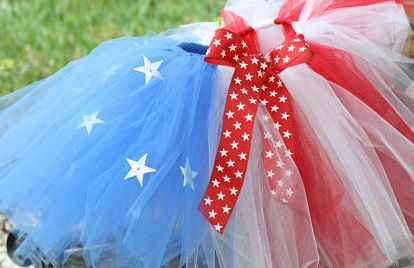 American Flag Full Tutu