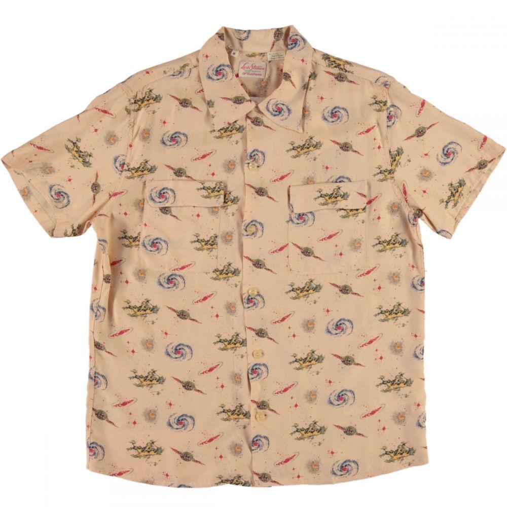b41037e5 Levis Vintage Clothing 1940s Hawaiian Shirt Universe Beige | Clothes ...