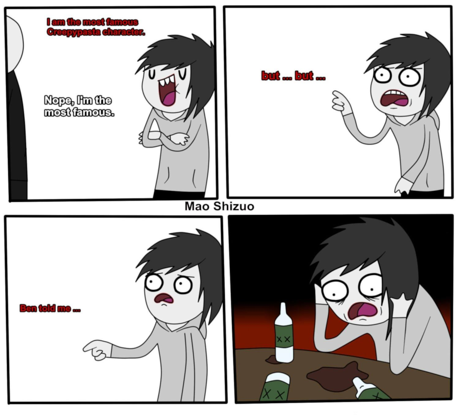 Jeff and Slenderman (Meme) | Jeff the Killer | Pinterest ...