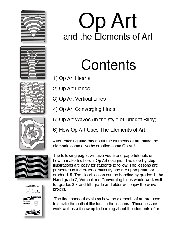 Printables Op Art Worksheet 1000 images about op art on pinterest teaching lesson plans and artsy
