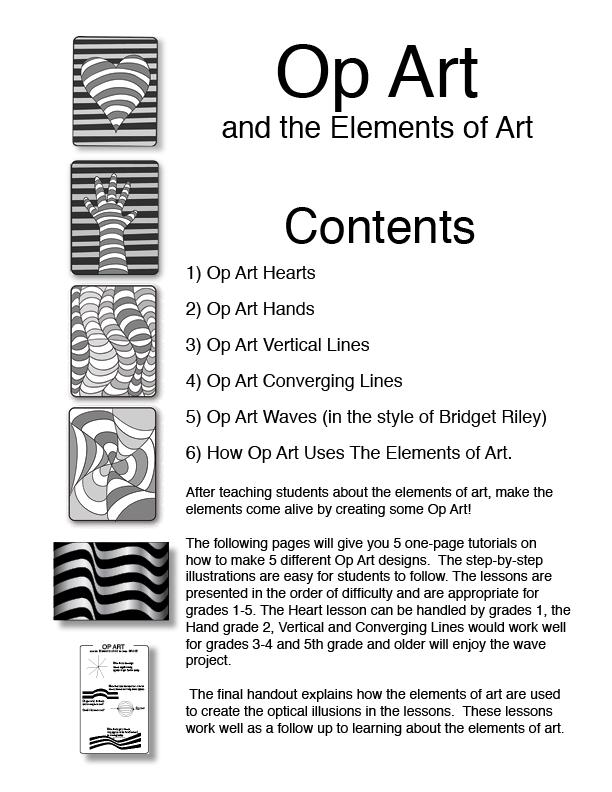 Printable Worksheets op art worksheets : Goodies for Teachers | DIBUS/DRAW | Pinterest | Goodies, Teacher ...