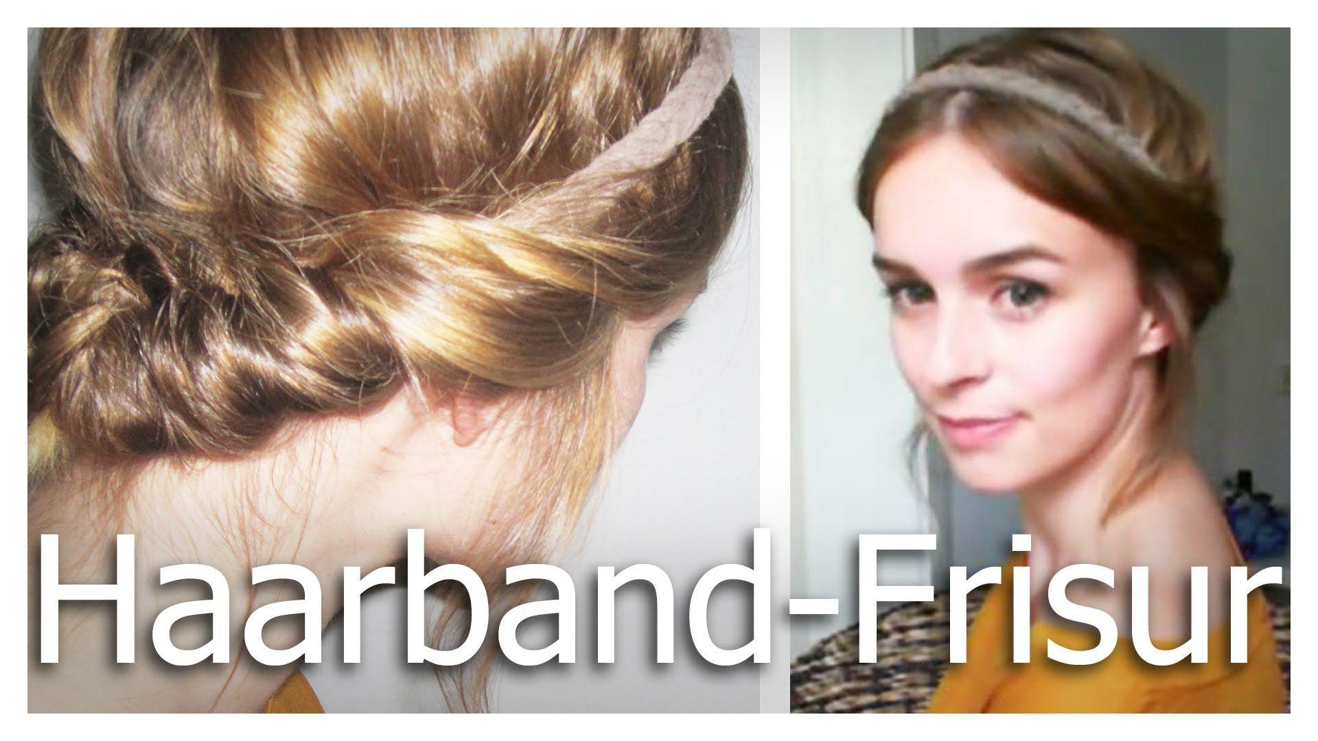 Schnelle frisuren mit haarband kurze haare