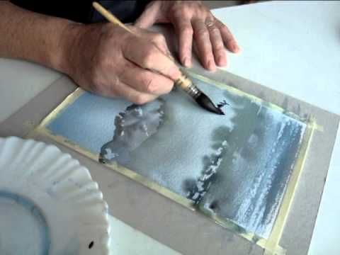 Aquarelle Neige Youtube Aquarelle Tutoriels Aquarelles