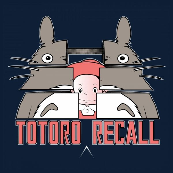 Totoro Recall T-shirt. Most Creative Crossover I Saw In A