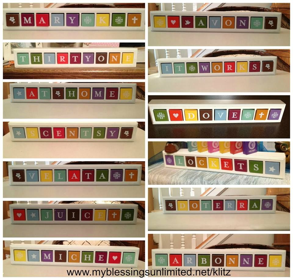 Blessings Unlimited Home Decor: Product # 80092 Blessings Blocks