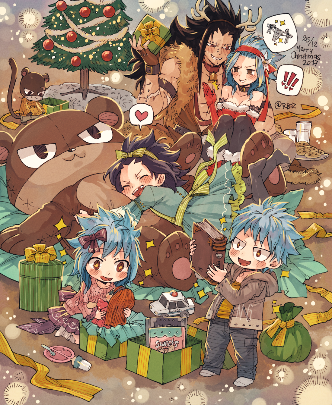 "rboz: """" merry christmas with gajevy family "" "" 